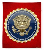 Presidential Service Badge - P S B Fleece Blanket