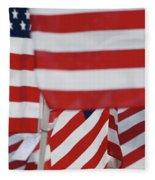 Usa Flags 02 Fleece Blanket