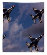 Usaf Thunderbirds Fleece Blanket