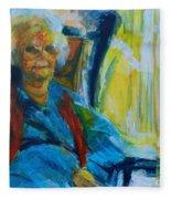 Use 2b So Ez - Alzheimer's Perch - The Long Good-bye Fleece Blanket