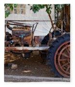 Used Tractor Fleece Blanket