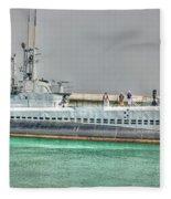 Uss Bowfin Ss-287 2 Fleece Blanket