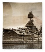 U.s.s. Texas Fleece Blanket