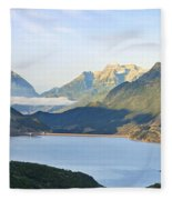 Utah Dawn Fleece Blanket
