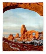 Utah Golden Arches Fleece Blanket