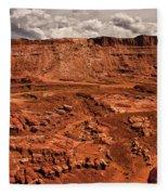 Utah Rocks Fleece Blanket