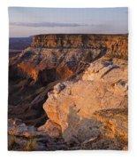 Utah Sunrise  Fleece Blanket