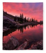 Utah's Cecret Fleece Blanket by Chad Dutson
