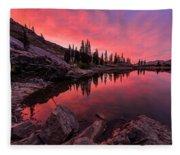 Utah's Cecret Fleece Blanket