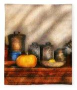 Utensils - Kitchen Still Life Fleece Blanket