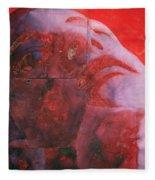 Uv Head Fleece Blanket