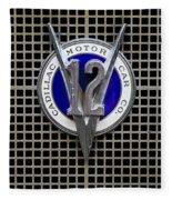 V12 Fleece Blanket