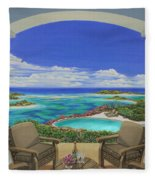 Vacation View Fleece Blanket
