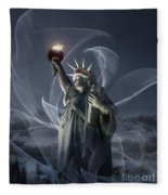 Light Of Liberty Fleece Blanket
