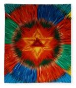 Vajrayogini Mandala Fleece Blanket