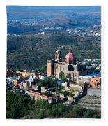 Valenciana, Mexico Fleece Blanket