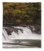 Valley Falls Scene 2 Fleece Blanket