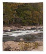 Valley Falls Scene 5 Fleece Blanket