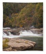 Valley Falls Scene 7 Fleece Blanket