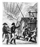 Valley Forge, 1777 Fleece Blanket