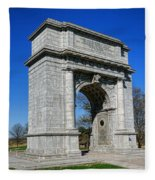 Valley Forge National Memorial Arch Fleece Blanket
