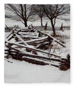 Valley Forge Snow Fleece Blanket