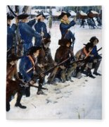 Valley Forge: Steuben, 1778 Fleece Blanket