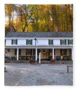 Valley Green Inn - Forbidden Drive Fleece Blanket