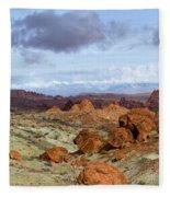Valley Of Fire State Park Fleece Blanket