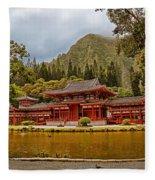 Valley Of The Temples Fleece Blanket