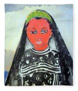 Van Dongen's Saida Fleece Blanket