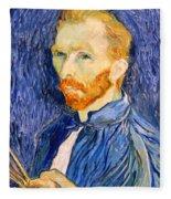 Van Gogh On Van Gogh Fleece Blanket