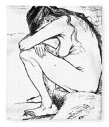 Sorrow, 1882 Fleece Blanket