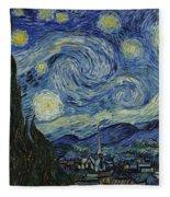 Van Gogh The Starry Night Fleece Blanket