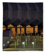 Van Wezel Performimg Arts Hall Stage Door Sarasota Fl Usa Fleece Blanket