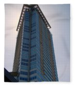 Vancouver Architecture 5 Fleece Blanket