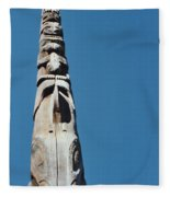 Vancouver Totem By Jrr Fleece Blanket