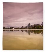 Vancouvers Lost Lagoon Fleece Blanket