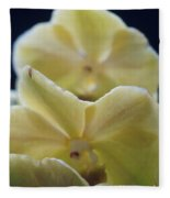 Vanilla Orchid Fleece Blanket