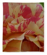 Variegated Rose Fleece Blanket