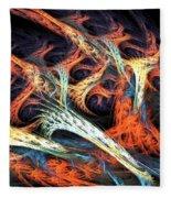 Vascular Plant Fleece Blanket