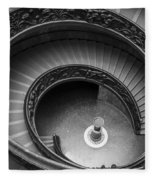 Vatican Stairs Fleece Blanket