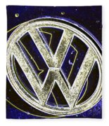 Vdub 2 Fleece Blanket