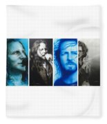Vedder Mosaic I Fleece Blanket