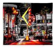 Vegas Nights Fleece Blanket