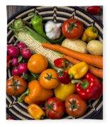 Vegetable Basket    Fleece Blanket