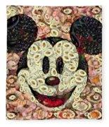 Veggie Mickey Mouse Fleece Blanket