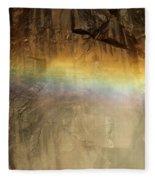 Veiled By A Rainbow Fleece Blanket
