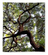 Veins Of Life Fleece Blanket
