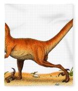 Velociraptor Fleece Blanket